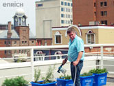 Enrich Magazine recognizes Doug on City Hall Roof